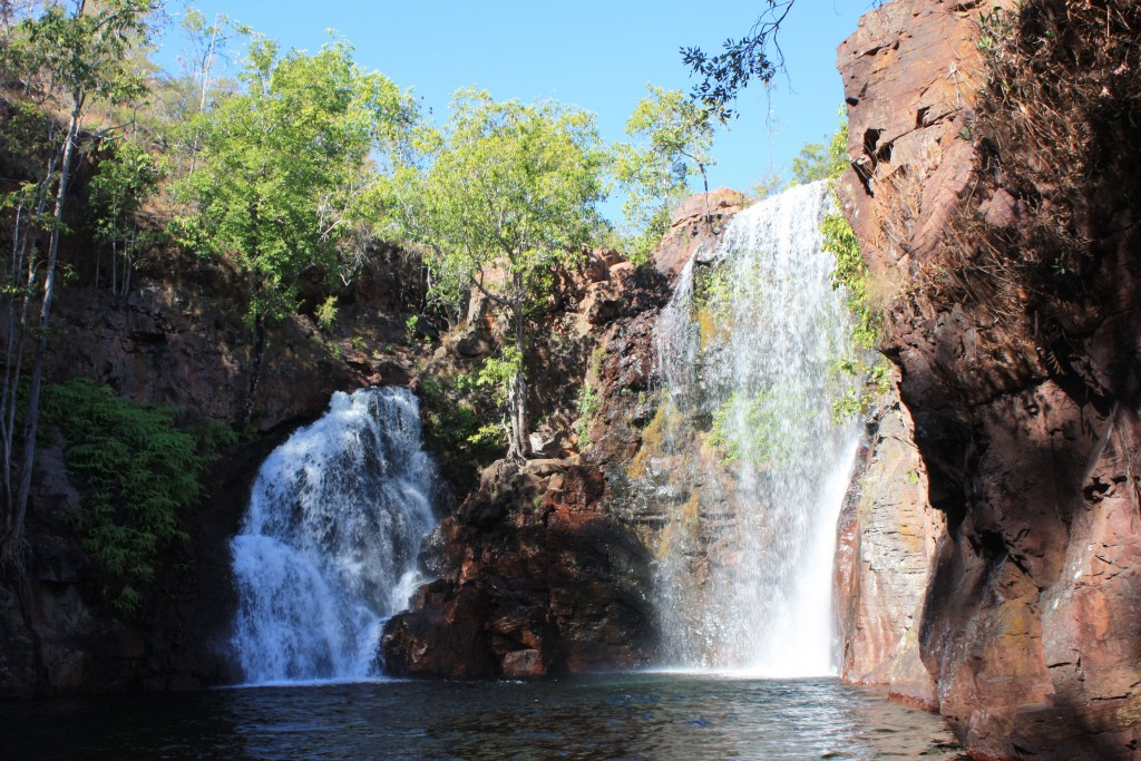 Florence falls — at Litchfield National Park.